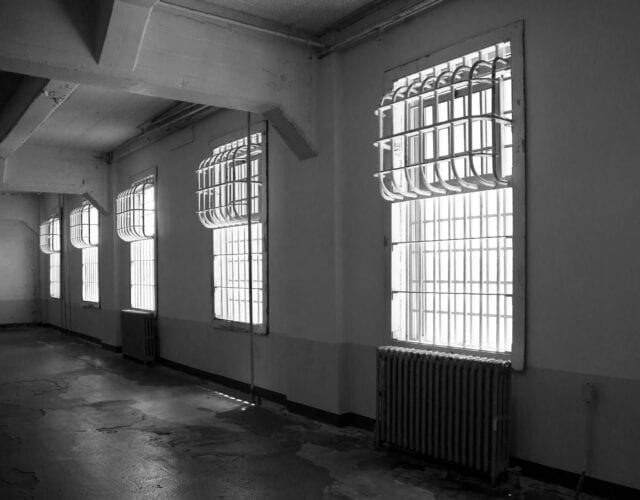 image of prison wards at alcatraz