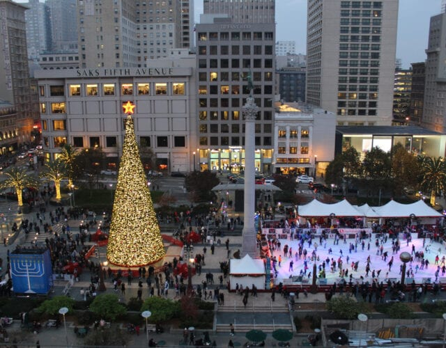 image of Christmas in San Francisco