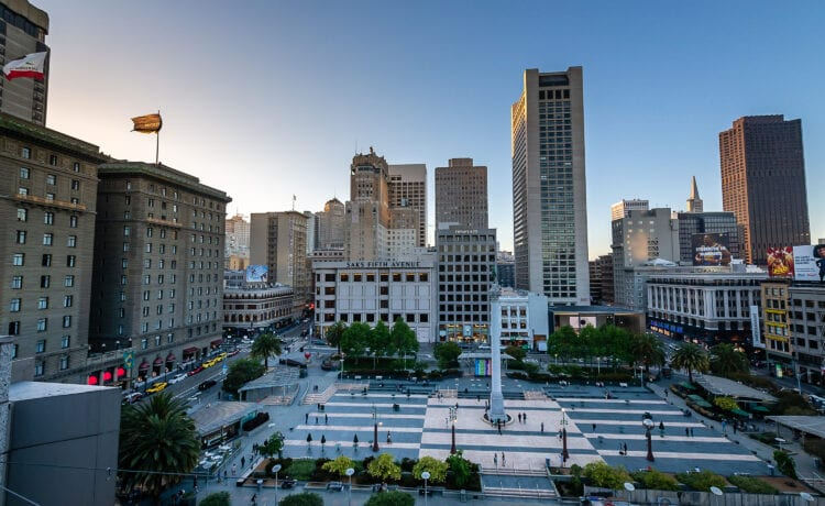 image of Union Square San Franciso